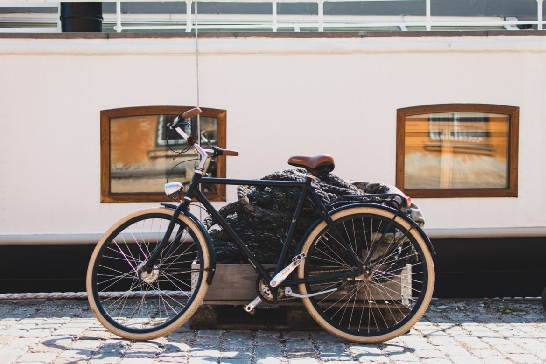 Estacionando tu bici