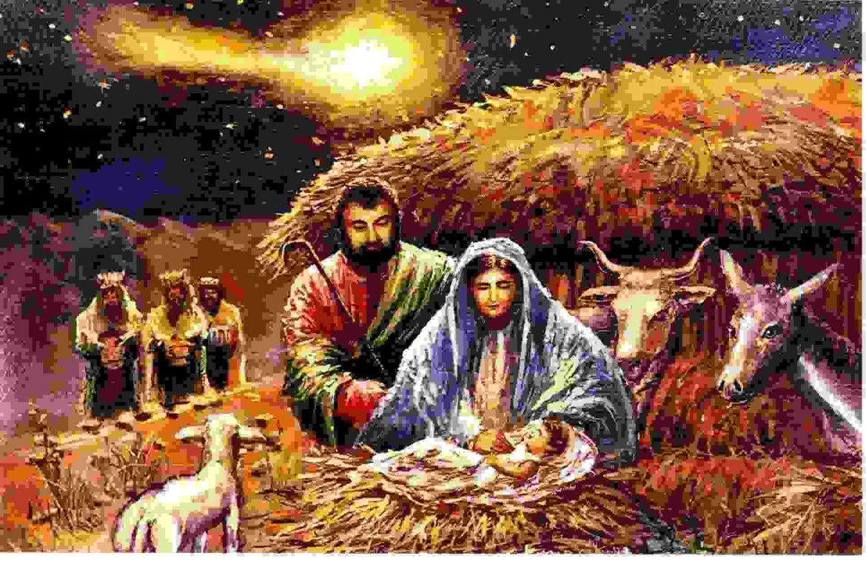 El Motivo de la Navidad: El nacimiento de Jesucristo